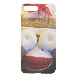 Peek-a-boo Sock Monkey iPhone 7 Plus Case