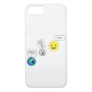 Peek-A-Boo Solar Eclipse phone case