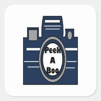 Peek A Boo Stickers