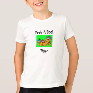 Peek A Boo Tiger T-Shirt