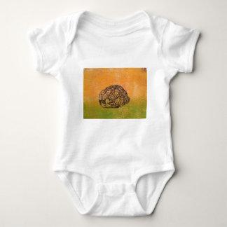Peek-a-Boo tortoise Baby Bodysuit