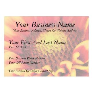 Peek Inside - Blanket Flower Pack Of Chubby Business Cards