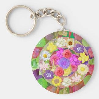 Peek n Discover - LOVE is hiding behind FLOWERS Key Chain