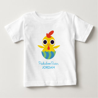 Peekaboo Barn Easter | Bandit the Chick 2 Baby T-Shirt