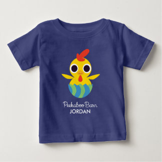 Peekaboo Barn Easter | Bandit the Chick Baby T-Shirt