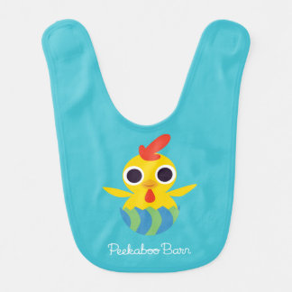 Peekaboo Barn Easter | Bandit the Chick Bib