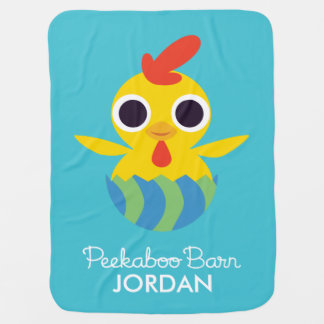Peekaboo Barn Easter | Bandit the Chick Swaddle Blankets