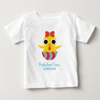 Peekaboo Barn Easter | Bayla the Chick 2 Baby T-Shirt