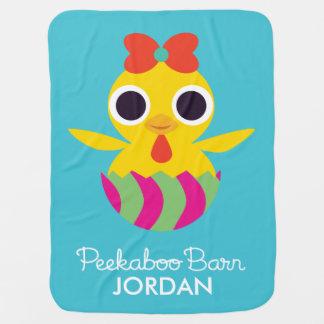 Peekaboo Barn Easter | Bayla the Chick Baby Blanket