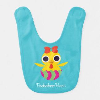 Peekaboo Barn Easter | Bayla the Chick Bib