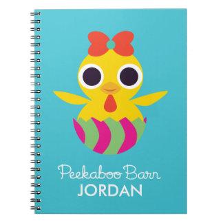 Peekaboo Barn Easter   Bayla the Chick Notebook