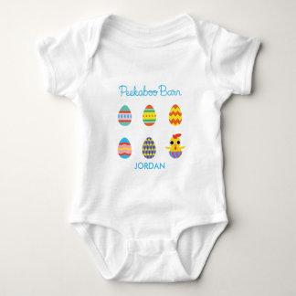Peekaboo Barn Easter | Easter Eggs 2 Baby Bodysuit