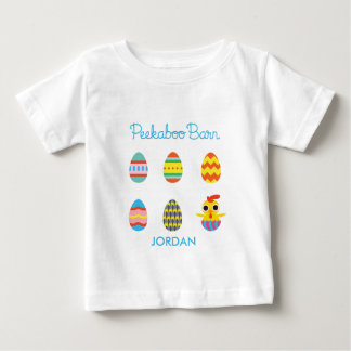 Peekaboo Barn Easter | Easter Eggs 2 Baby T-Shirt