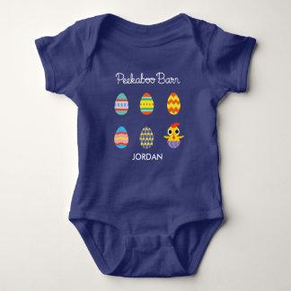 Peekaboo Barn Easter | Easter Eggs Baby Bodysuit