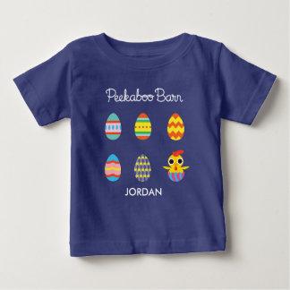 Peekaboo Barn Easter | Easter Eggs Baby T-Shirt