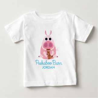 Peekaboo Barn Easter | Leary the Pig 2 Baby T-Shirt