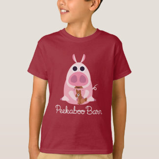 Peekaboo Barn Easter | Leary the Pig T-Shirt