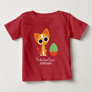 Peekaboo Barn Easter | Purrl the Cat Baby T-Shirt
