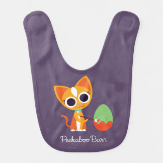 Peekaboo Barn Easter | Purrl the Cat Bib