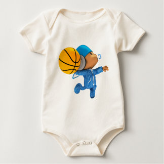 peekaboo basketball swish 02 baby bodysuit