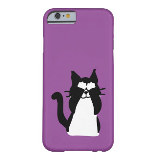 Peekaboo Kitty Cat Covering Eyes Barely There iPhone 6 Case