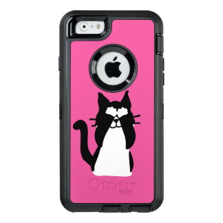 Peekaboo Kitty Cat Covering Eyes OtterBox iPhone 6/6s Case