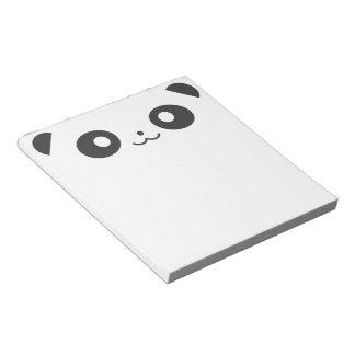 Peekaboo Panda Notepad