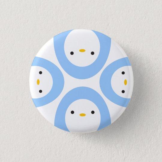 Peekaboo Penguins 3 Cm Round Badge