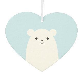 Peekaboo Polar Bear Car Air Freshener