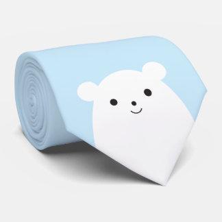 Peekaboo Polar Bear Tie