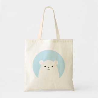 Peekaboo Polar Bear Tote Bag