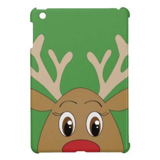 Peekaboo Reindeer Case Savvy iPad Mini Glossy Fini iPad Mini Covers
