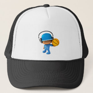 Peekaboo superstar basketball edition trucker hat