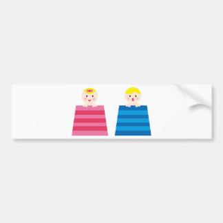 PeekABooBabies10 Bumper Sticker