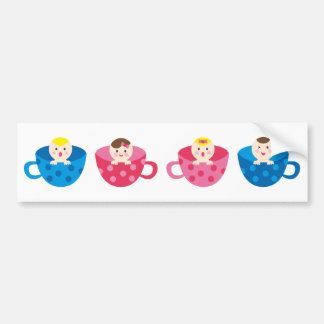 PeekABooBabies13 Bumper Sticker