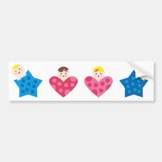PeekABooBabies15 Bumper Sticker