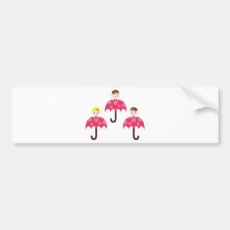 PeekABooBabies3 Bumper Sticker