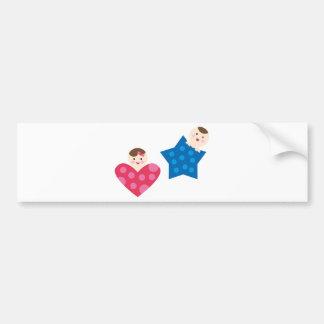 PeekABooBabies5 Bumper Sticker