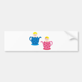 PeekABooBabies6 Bumper Stickers