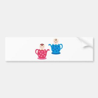 PeekABooBabies7 Bumper Sticker