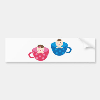 PeekABooBabies9 Bumper Sticker
