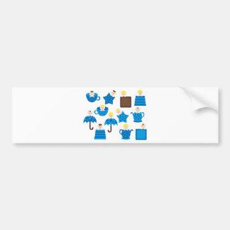 PeekABooBoys1 Bumper Sticker