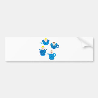 PeekABooBoys2 Bumper Stickers