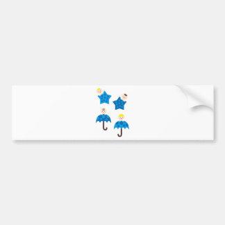 PeekABooBoys3 Bumper Sticker