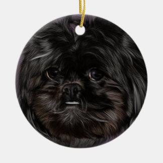 Peekapoo Christmas Ornament