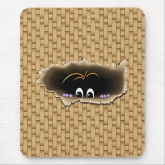 Peeking Creature Mousepad