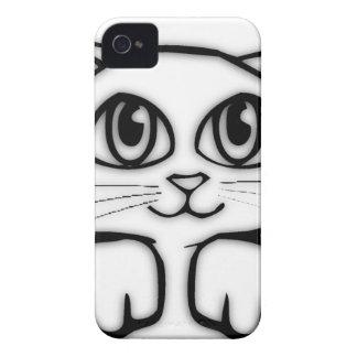 Peeking Kitten iPhone 4 Cover