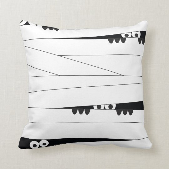 Peeking Mummy Cushion