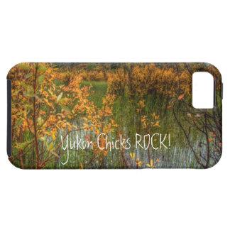 Peeking Through the Brush; Yukon Chicks ROCK! iPhone 5 Covers