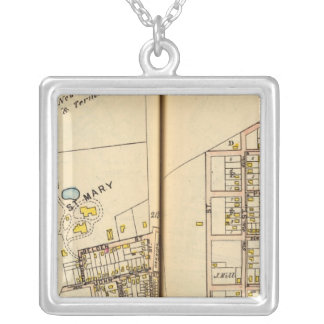 Peekskill, New York 3 Silver Plated Necklace